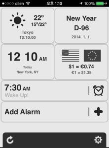 Yooii Smart Phone app theme