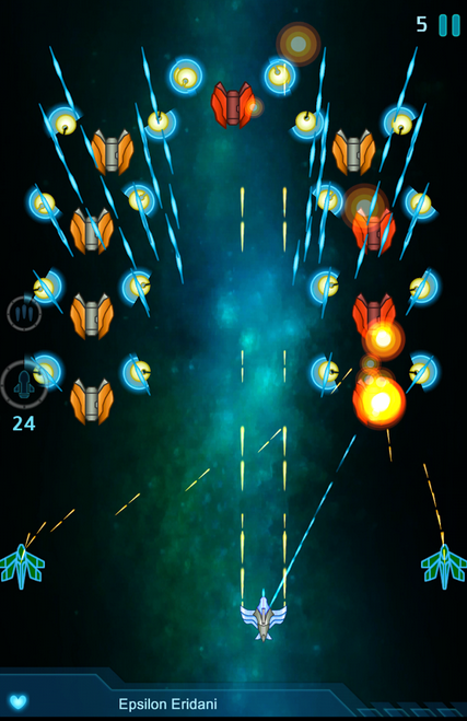 Galaxy Falcon screenshot from Yooii Studios